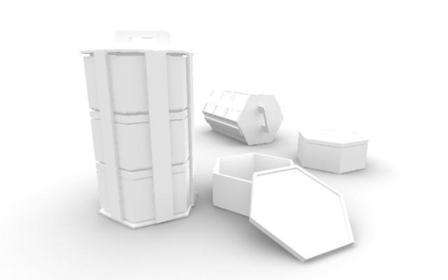 3D packaging design